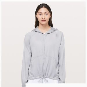 Lululemon CIty stroll hoodie with lululemon bag